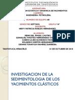 Investigacion de La Sedimentologia de Los Yacimientos Clásticos