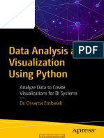 Data Analysis and Visualization Using Python