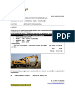 Cotizacion Masedi Excavadora c. Ulloa Abril 2015