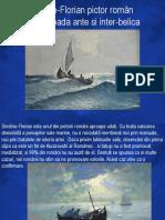 0 Dimitrie Florian Pictor Roman Peisaje Marine Ro
