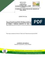 Certificacion Del Servicio de Internet