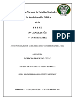 Tema II Etapas Del Proceso Punitivo Mexicano