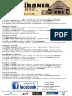 Program Kina Urania 29.11.-5.12.2018
