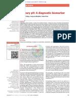 Salivary PH a Diagnostic Biomarker
