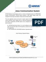 DF7000 Wireless Communication System DONGFANG