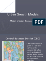 urban development models