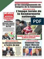 Journal Le Soir Dalgerie 26.11.2018