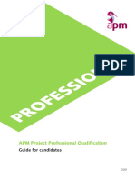 APM Project Professional Qualification Guide for Candidates