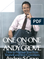One on One With Andy Grove - Unknown
