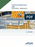 2. Acero de Refuerzo SAS 500 550 Sistema de Refuerzo de Barras