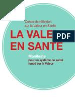 Manifeste Valeur Sante