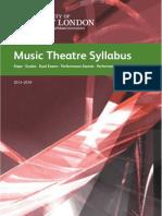 Music Theatre Syllabus