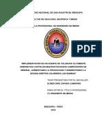 Implmentacion de Un Agente Altamnete Energetico, Aumentando La Produccion y Disminuyendo La Granulometria