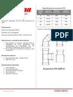 Ficha técnica DURMAN - Accesorios SDR21.pdf