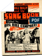 Hillbilly Roundup Songbook-1938