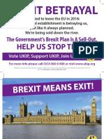 Brexit Means Exit