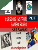 CURSO DE INSTRUTOR DE SAMBO RUSSSO 2017.pptx