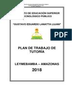Plan de Tutoría-2018