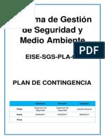 EISE SGS PLA 01_Plan de Contingencia