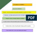 Gramática 2º Ciclo Compilação de Exercicios