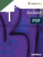 Sociedad 1º Año Medio Santillana Bicentenario