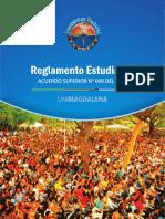 Reglamento estudiantil universidad del magdalena 2018