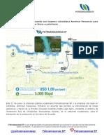 Petroamazonas EP Firma Acuerdo Con Empresa Colombiana Amerisur Resources Para Transporte de Producción Por Líneas Ecuatorianas 12-6-151