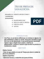 Diseño de Presa de Yanacocha