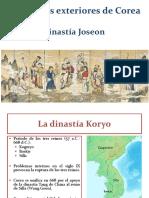 4. La Dinastía Joseon de Corea