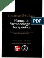Manual de Farmacologia e Terapêutica Goodman