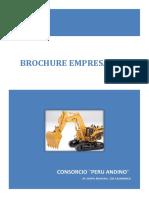Brochure Consorcio Peru Andino