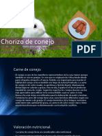 Chorizo de Conejo