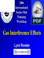 Presentation Echometer Gas Interference