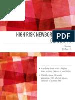 High Risk Newborn 2