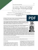 PIETERSE Lists Taxonomies Thesauri Ontologies
