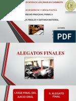 Alegatos Finales