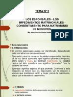 Tema 3 - Derecho de Familia