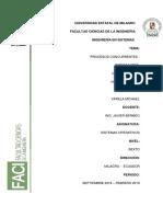 Procesos Concurrentes - Sistemas Operativos