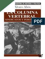 Abos Alvaro - La Columna Vertebral