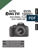 Manual Basico Eos Rebel t6