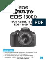 Manual Menos Basico Eos Rebel t6