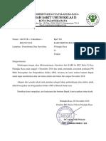 Permintaan Data Surveilans Dg Rs Bhayangkara
