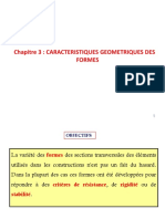 Rdm Chapitre III Caracteristiques Geometriques Sections 2018