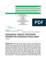 Dermatitis Venenata Slide Show