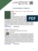 Libros Electrónicos Del CSIC
