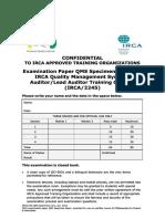 Irca Qms Exam Paper Specimen2012