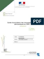 Guide d'Auscultation Des Chaussees Souples Aeronautiques Au HWD (V1_Juil.2013)