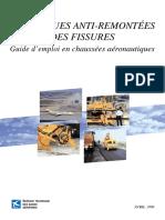 Techniques Anti-remontees Des Fissures _Guide d'Emploi en Chaussées Aéronautiques