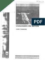 Chaussees en Beton - Guide Technique LCPC (1997)
