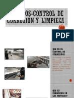 Procesos, Control de Corrosión y Limpieza